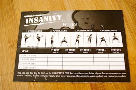 Insanity 60 Day Total Body Conditioning Program – 2 Lazy 4