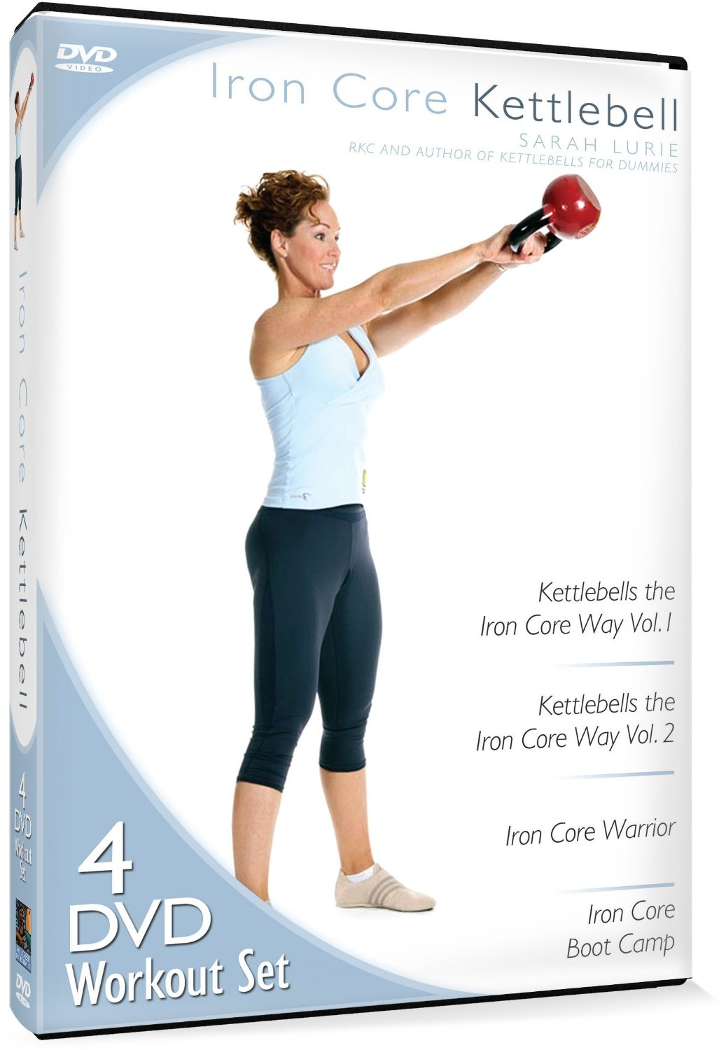 Iron Core Kettlebell Is A Neat Collection Of Sarah Lurie Workouts I Got On Amazon For Great Price It Actually 4 Separate Workout DVDs That
